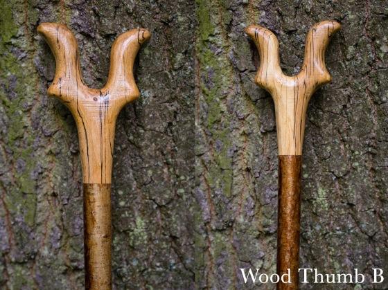 B Wood Thumb